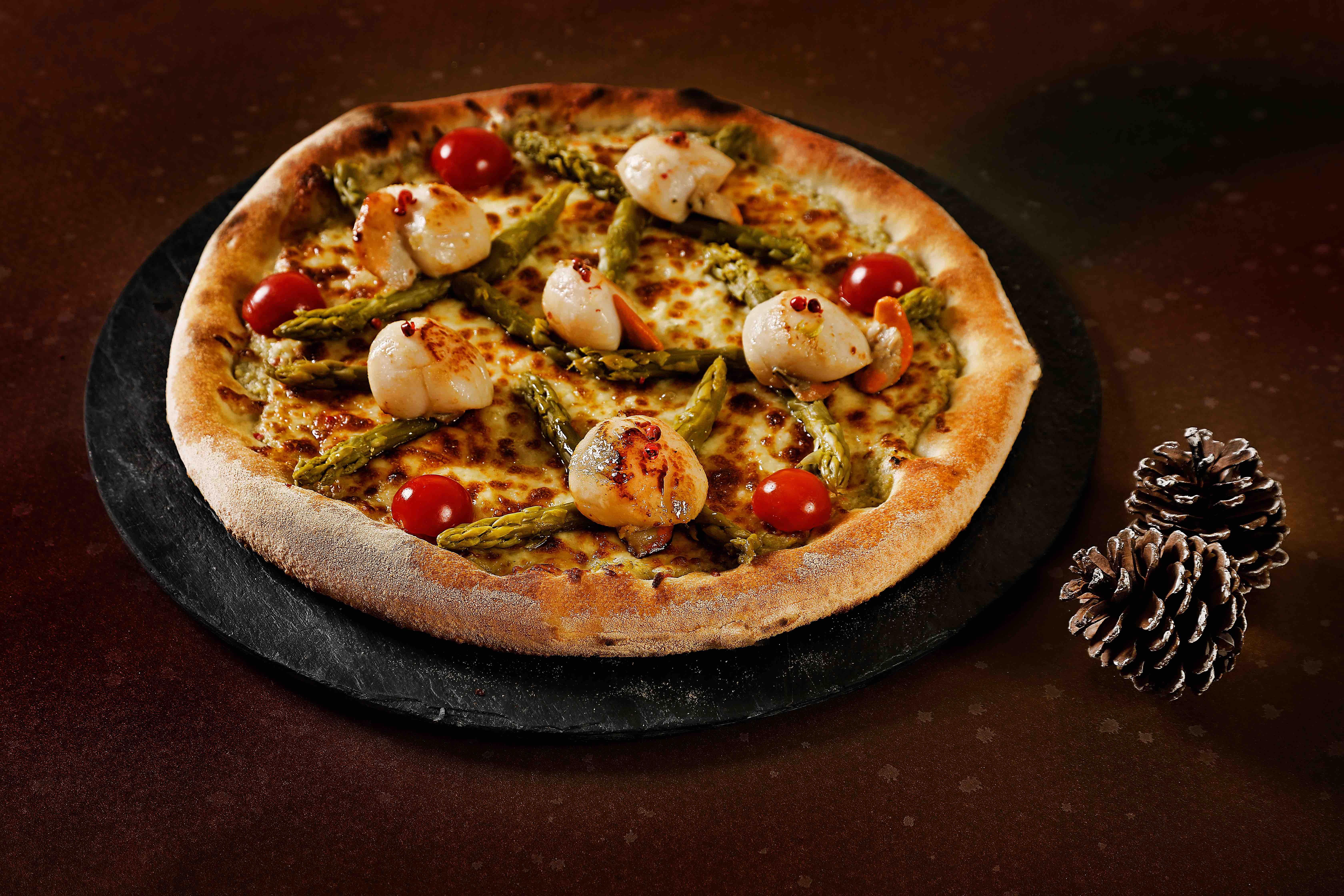 pizza saint jacques