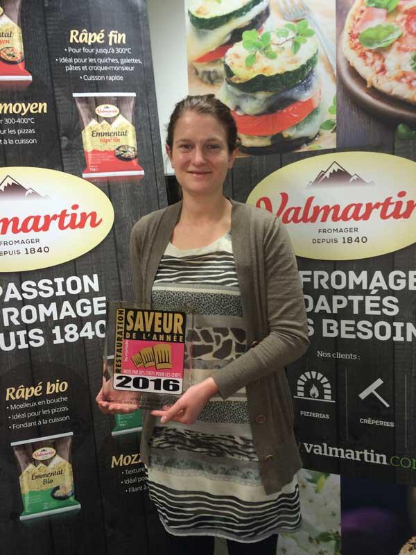 Valmartin saveur de l'année 2016 - 2